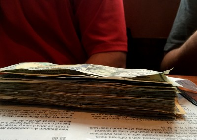 TBXII cash stack side
