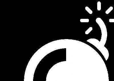 TipBombs logo mark white